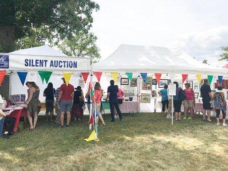 SILENT AUCTION, 2018 Summer Art Fair