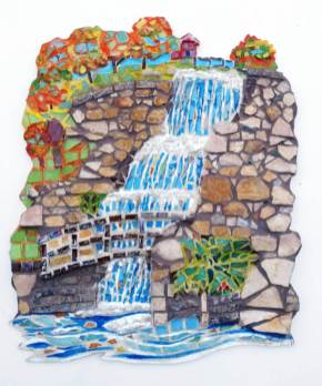 Mosaic of Falls by Anne Gaines