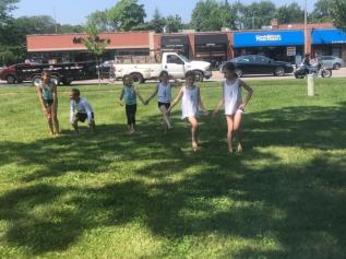2019 SAF kids dancing