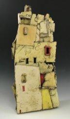 9th ward (ceramic with stains, glaze) 15X27