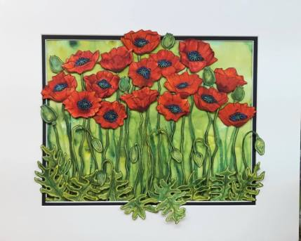 Liz Waddington Poppies