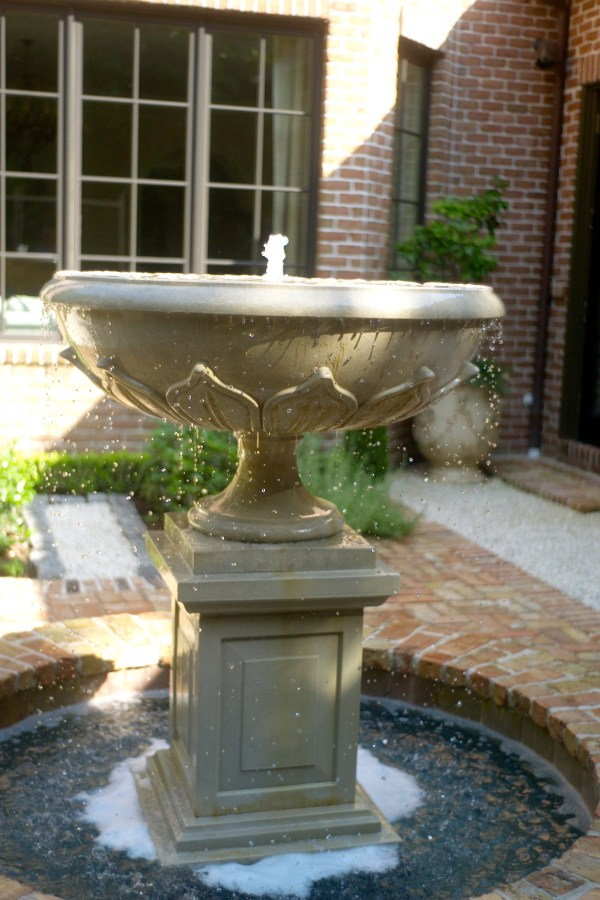 Houston Water Fountain Installs - Glenwood Weber Design