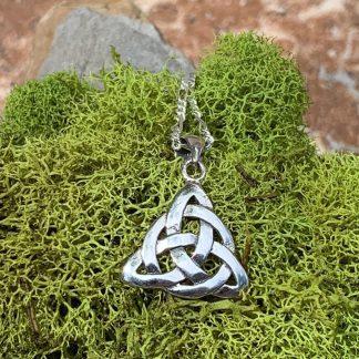 Triquetra Celtic Knot Pendant