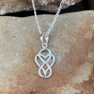 Everlasting Love Sterling Pendant