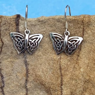 Celtic Butterfly Dangle Earring