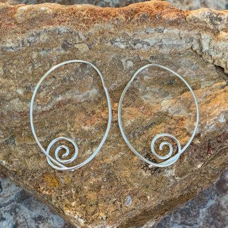 Sterling Silver Wire Earrings