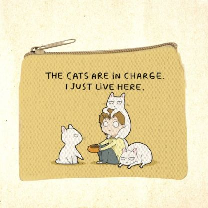 Cat Themed Coin Purse