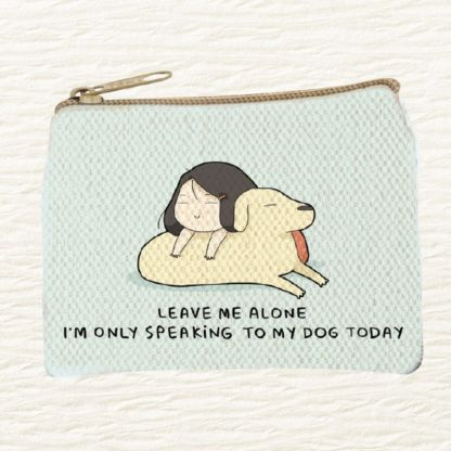 Only My Dog Coin Purse