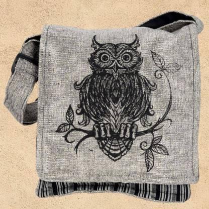 Owl Cotton Cross Bodybag