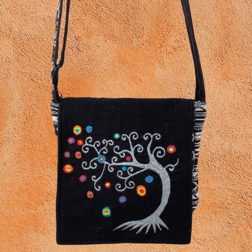 Colorful Tree of Life Bag