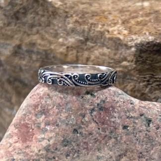 Sterling Spring Promise Ring