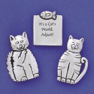 A Cats World Magnets