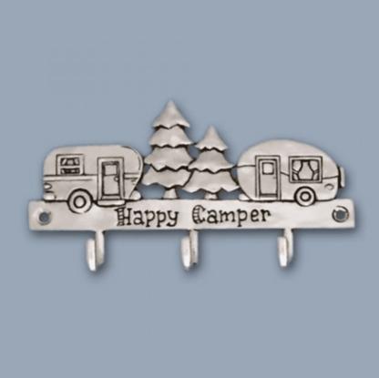 Happy Camper Pewter Hook