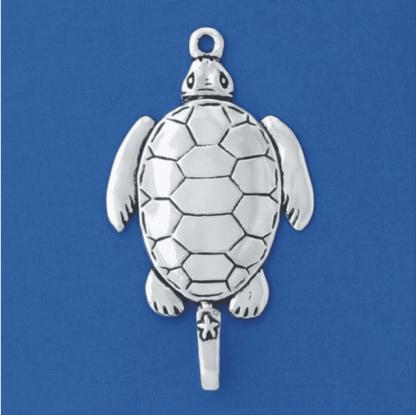 Sea Turtle Pewter Hook