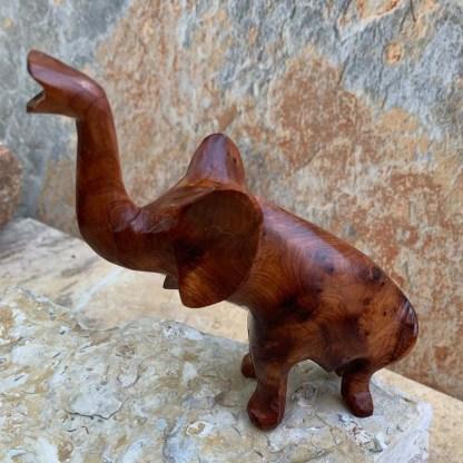 Moroccan Thuya Wood Elephant