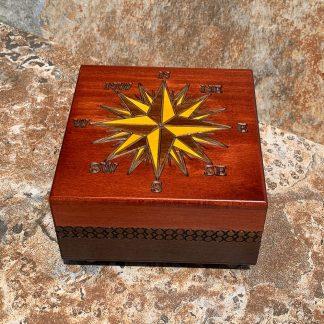 Compass Box with Secret