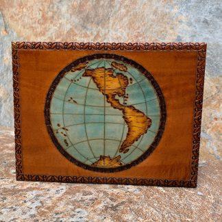 Old World Globe Box