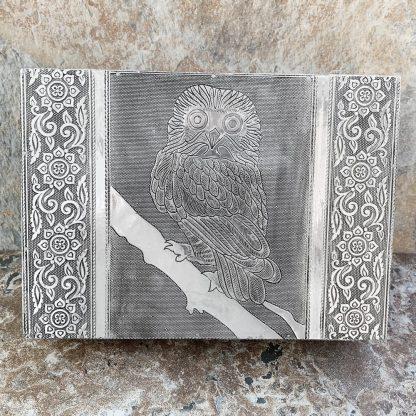 Tin Owl Jewelry Box