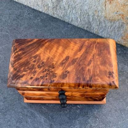 Moroccan Thuya Wood Mini-Chest