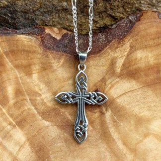 Sterling Celtic Cross Pendant