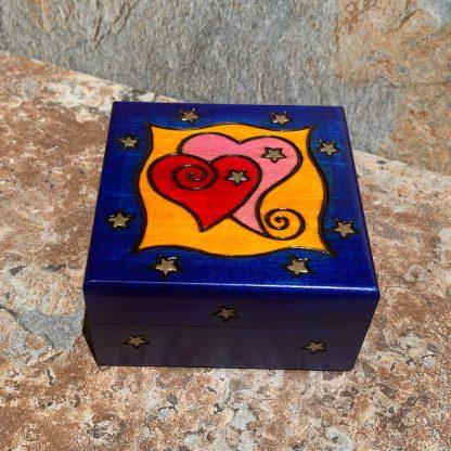 Double Love Heart Box