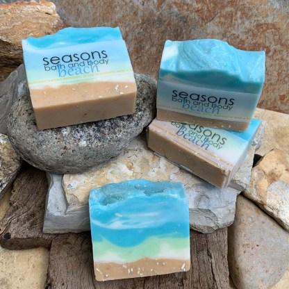 Handcrafted Natural Beach Soap