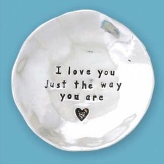 Sweet Pewter Trinket Bowl