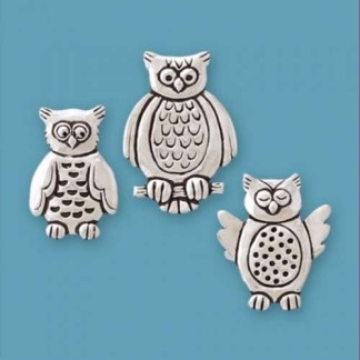 Expressive Wise Owl Magnets