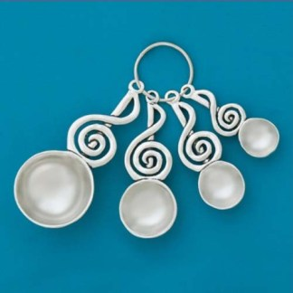 Treble Clef Pewter Spoons
