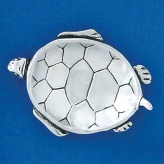 Pewter Turtle Charm Bowl