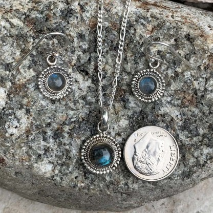 Labradorite Sterling Gift Set