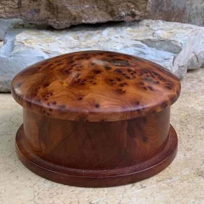 Moroccan Thuya Round Box