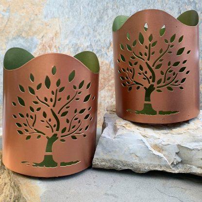 Tree of Life Votive Holder
