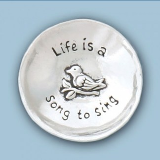 Songbird Pewter Charm Bowl