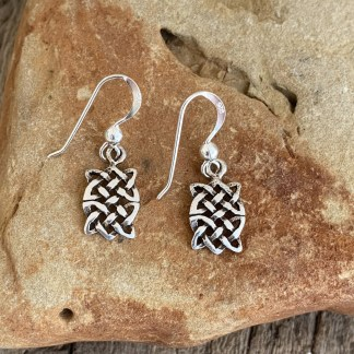 Sterling Celtic Knot Earrings