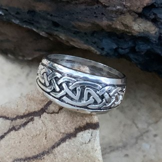 Sterling Celtic Knots Ring