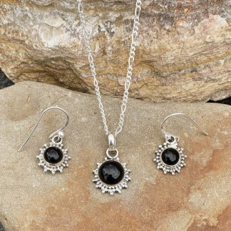 Black Onyx Starburst Set
