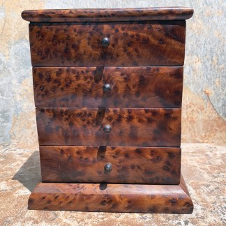 Large Thuya-Wood Moroccan Chest