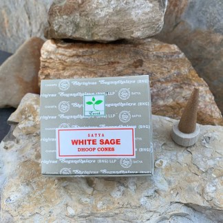 White Sage Dhoop-Incense Cones