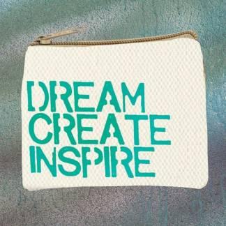 Dream Create Inspire Coin-Purse