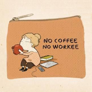 No Coffee Coin Purse
