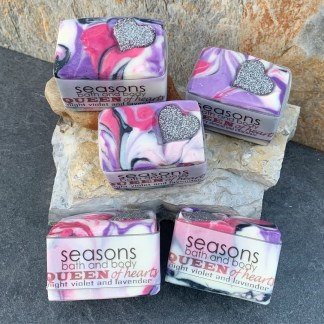 Queen of Hearts Natural Soap