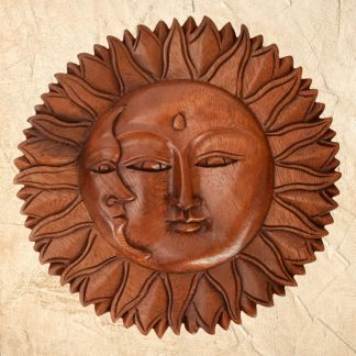 Sun & Moon Wall Decor