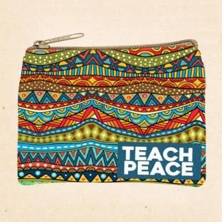 Teach Peace Coin Purse