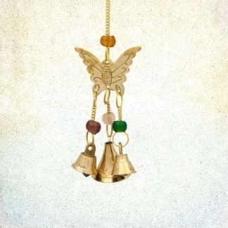 Brass Butterfly Wind Chime