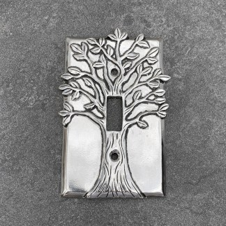 Tree of Light Switch Plate