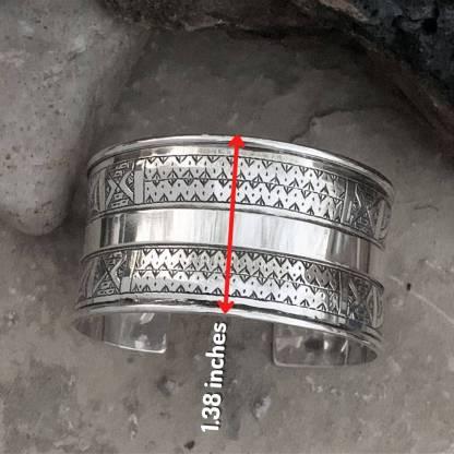 Sterling Berber Cuff Bracelet