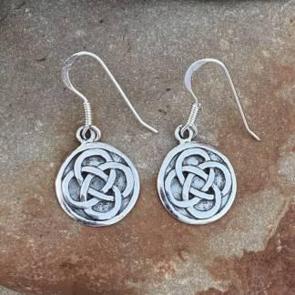 Celtic Endless Knot Earrings