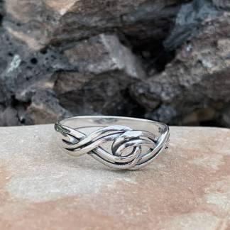 Sterling Silver Braid Ring