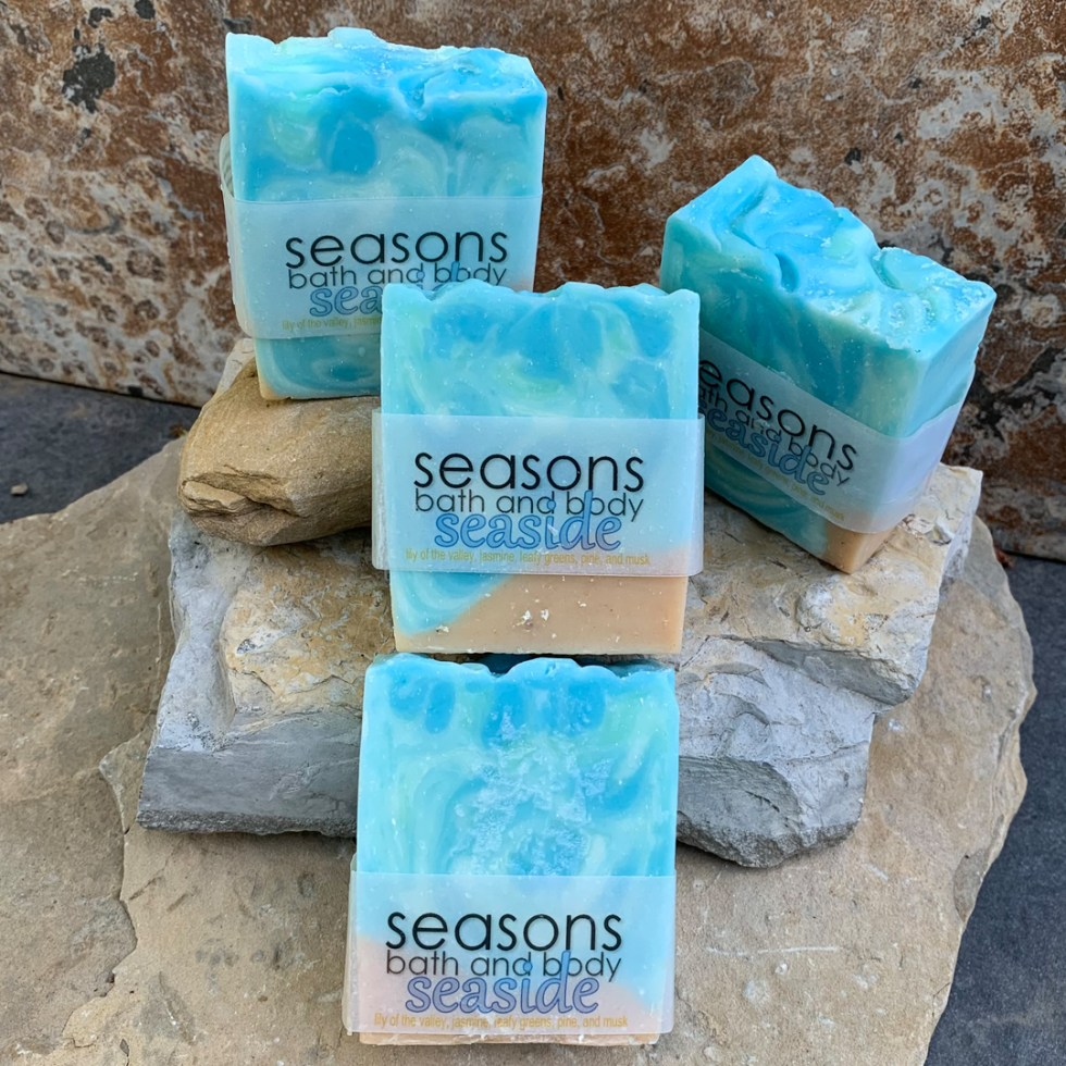 All Natural Seaside Soap